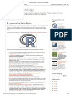 AboutHydrology_ R Resources for Hydrologists