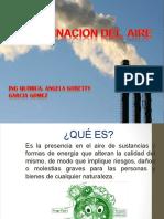 Contaminantes en El Aire Economia