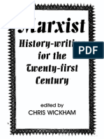 [British Academy Occasional Paper 9] Wickham, Chris - Marxist History-writing for the Twenty-first Century (2007, Oxford University Press)