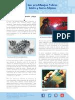 Guias para el manejo de productos quimicos y desechos peligrosos