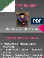 Filsafat Hukum Dr. Angkasa 1