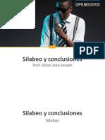 Tema 5. Silabeo y Conclusiones (1)