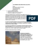 Estas Son Las Pirámides Más Importante de Egipto