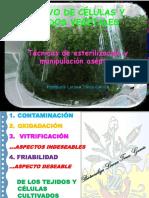 5. Tecnicas de Esterilizacion y Manipulacion Aseptica