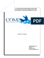 Final Communication Strategy Framework for ODMP