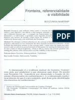 Artigo - Fronteira, Referencialidade e Visibilidade - Lido