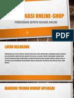 Project Online Shop PPT