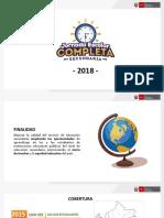 AREQUIPA - orientaciones 2018
