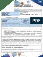 Guía de Actividades y Rúbrica de Evaluación - Paso 6 - Selección de Una Situación Problémica