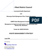 ODMP Waste Strategy Final Report 25-08-2006