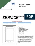 Esquema Elétrico Samsung Galaxy J7 2016 4G SM-J710FN - Manual de Serviço