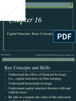 Capital Structure Basic Concepts