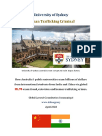 University of Sydney IELTS Fraud