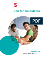 Ielts Information for Candidates Booklet