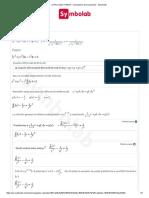 Ejercicio 5 Resuelto Ecuaciciones