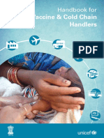 Handbook for Vaccine and Cold Chain Handlers