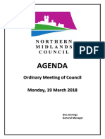 Northern Midlands Council March meeting