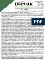 Thupuak Volume 12, Issue 41 (18 March 2018)