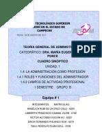 Roles administrativos y Funciones del administrador - Angélica de la Cruz
