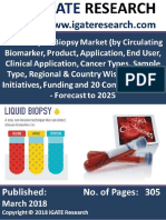 Global Liquid Biopsy Market and Forecast to 2025