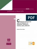 Conferencia Internacional sobre la Población y el Desarrollo- Avances en América Latina 2009-2011.pdf