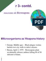 Chapter 5 ( Contd.)  Bioterrorism 2010.ppt