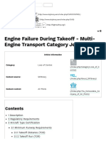 Engine Failure During Takeoff - Multi-Engine Transport Category Jet Aircraft - SKYbrary Aviation Safety