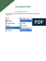 Fileupload in ADF (Autosaved)