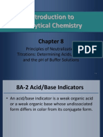 Skoog CH 8 Principles of Neutralization Titrations
