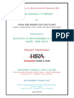 Report Business Plan Iron Ore