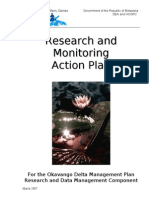 ODMP Research and Monitoring Action Plan - 2007