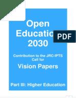 Open Education 2030 OE2030_Part III Higher Education .pdf