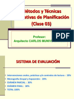 Métodos y Técnicas de Planif._clase 03