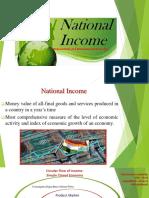 Economic Envt- National Income