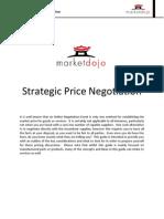 Strategic Price Negotiation