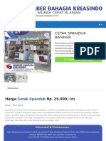 CETAK SPANDUK BANNER - Percetakan Murah Dan Cepat Di Jakarta