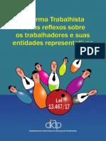 Cartilha Reforma Trabalhista Diap
