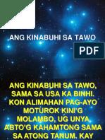 ANG KINABUHI SA TAWO.pptx