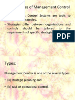 Management Control System MODULE I