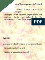 Management Control System MODULE I