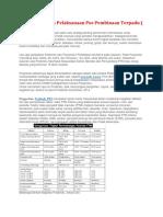 Petunjuk Teknis Pelaksanaan Pos Pembinaan Terpadu