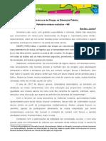 Relatorio Sintese Avaliativo JTC 2013