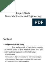 Project Study Orientation