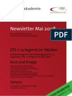 Trainerakademie Newsletter 05 2008
