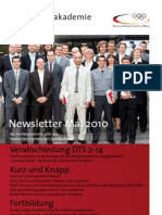 Trainerakademie Newsletter 05 2010