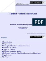 11. Takaful Islamic Insurance