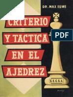 Euwe Max - Criterio tactica en el ajedrez, 1984-OCR, 251p.pdf