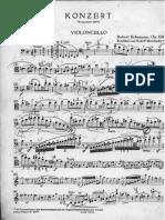 Schumann Cello Concerto Op. 129, A Minor