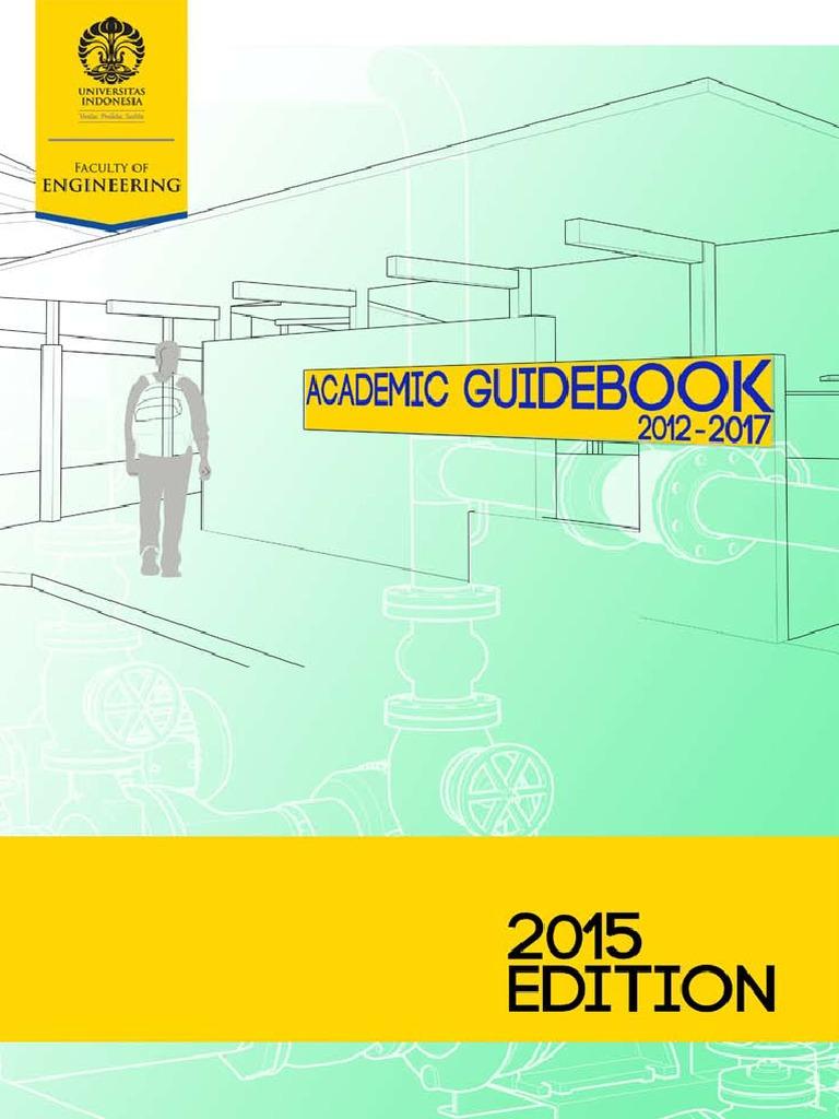 Academic Guidebook Ftui 2015 Englishpdf Degree Civil Produk Ukm Bumn Travel Bag Small Size Engineering