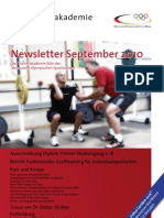 Trainerakademie Newsletter 09 2010
